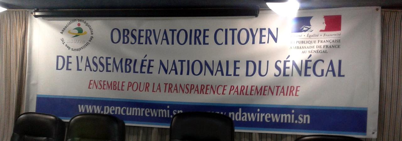 Observatoire citoyen de l'assemblée nationale du Sénégal